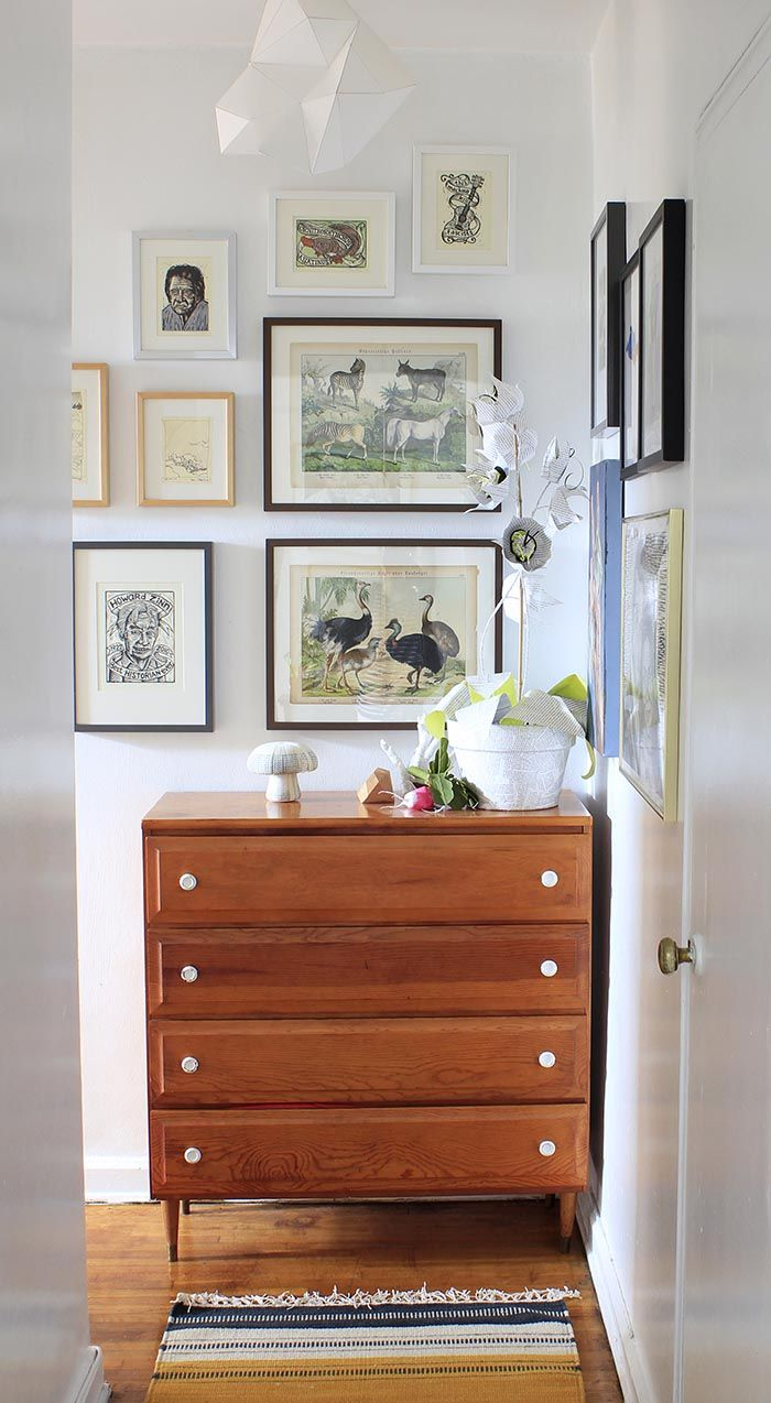 end of the hallway || A Home Full of Creativity and DIY Design | Design*Sponge