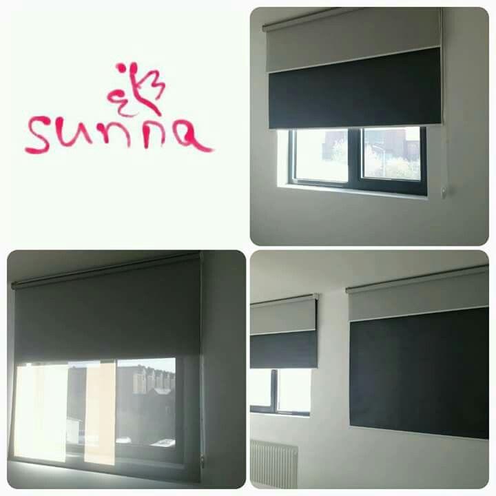 Rolete textile duble www.sunna.ro