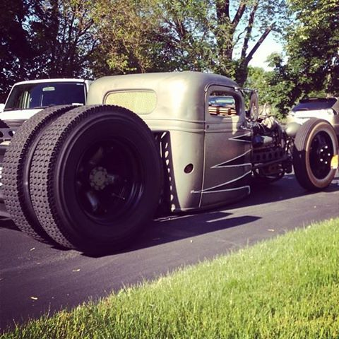 dually rat rods | 1938 rat rod dually deluxe by 42oldschool dually shop by