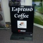Get your own sandwich board for the coffee shop made by Auckland Display Signs and market yourself wisely. Auckland Display Signs provide the best signage services in Auckland. Source: http://www.aucklanddisplaysigns.co.nz/services/sandwich-boards/