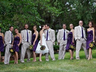 70 best Plum and silver wedding ideas images on Pinterest | Wedding ...