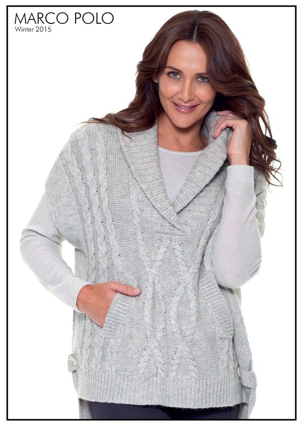 A beautiful unique knit. Our Cable Poncho is the perfect winter warmer. Style with leggings and boots for stylish outfitting. Please call 03 9902 5100 to locate your nearest stockist or shop online today for other great knitwear at http://www.marcopolo.net.au/knitwear (Style Number: YTMW53086)
