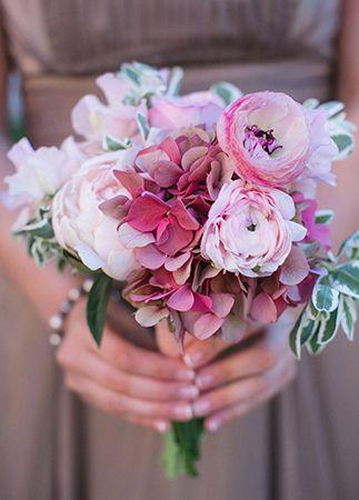 Pastel wedding bouquet | blog.theknot.com