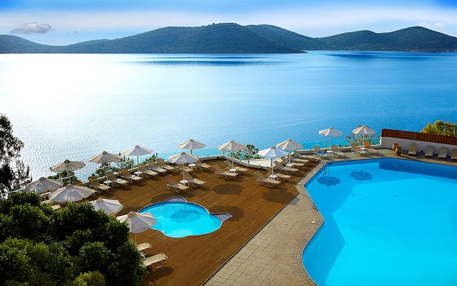 Elounda Blu Hotel Pool by Travelive