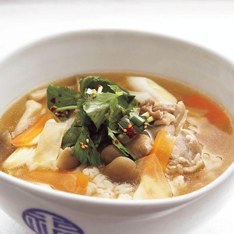 とりクッパ | コウケンテツさんのおかゆ・ぞうすいの料理レシピ | プロの簡単料理レシピはレタスクラブニュース