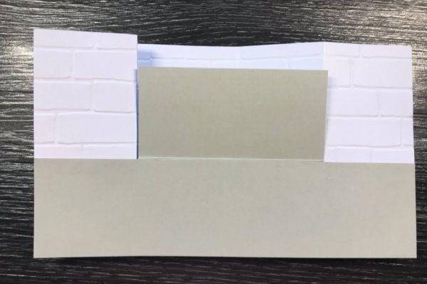 Bench Fold Card Tutorial Splitcoaststampers In 2020 Bench Card Folded Cards Fancy Fold Cards