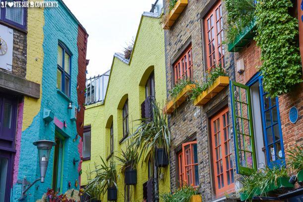 Neal's Yard: un recoin londonien haut en couleurs   Une Porte Sur Deux Continents