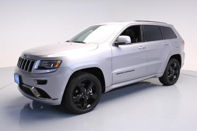 Ebay 2016 Jeep Grand Cherokee Overland Sport Utility 4 Door 2016
