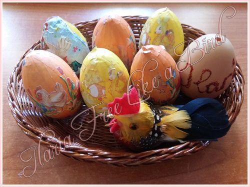 Ilaria Free Like a Bird: Le mie decorazioni per Pasqua