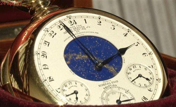 Švýcarské luxusní hodinky netáhnou. Je za tím i čínský korupční skandál