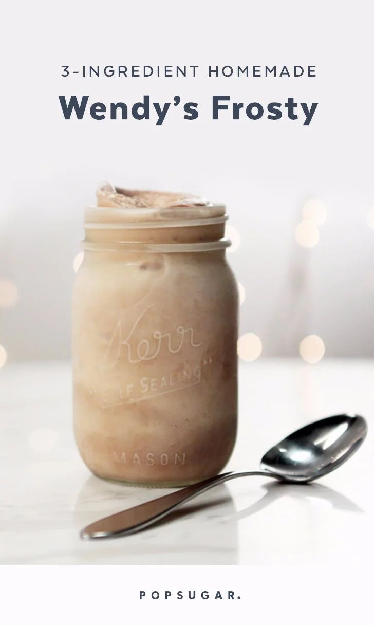 Our 3ingredient homemade take on wendys frosty recipe