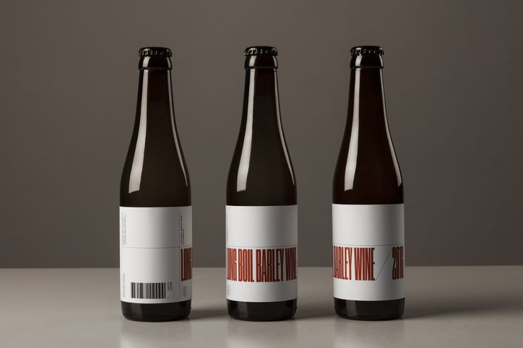 O/O Brewing Long Boil Barley Wine - Packaging & Art Direction