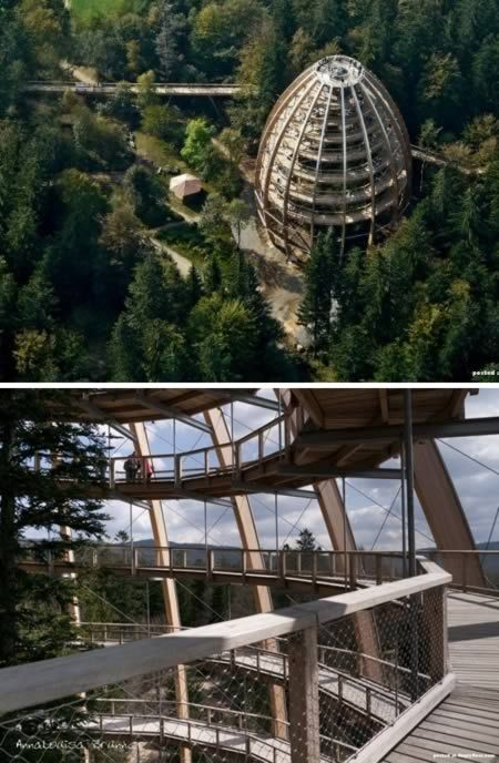 10 most amazing observation towers lookouttower for Mobilia zoo