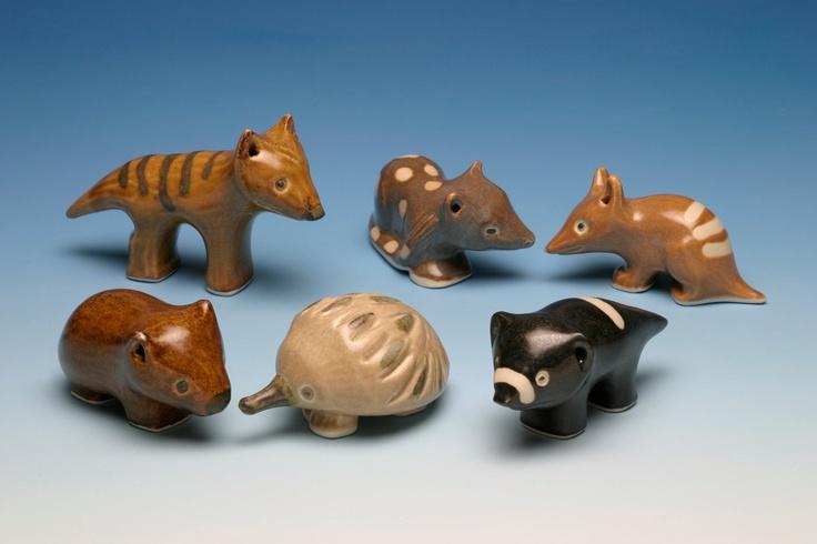 Handmade Ceramic Quoll Sculpture: Ceramics Quoll, Wood, Handmade Ceramics, Animal Sculptures, Ceramic Quoll, Ceramics Ideas, Australian Animals