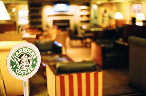 Feeling down? Go to Starbucks:)