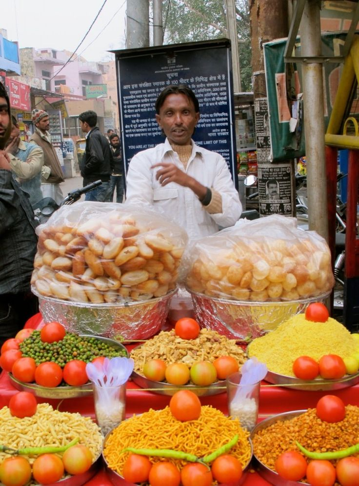 Bhel Puri in Agra