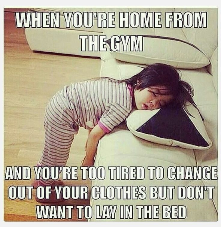Have you ever felt like this after a workout? It also happens to be how we feel after this long weekend. #fact #gymhumor