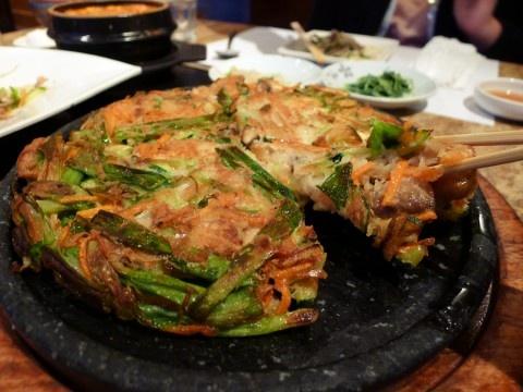 Pajeon - Korean Pancake: Korean Pancake