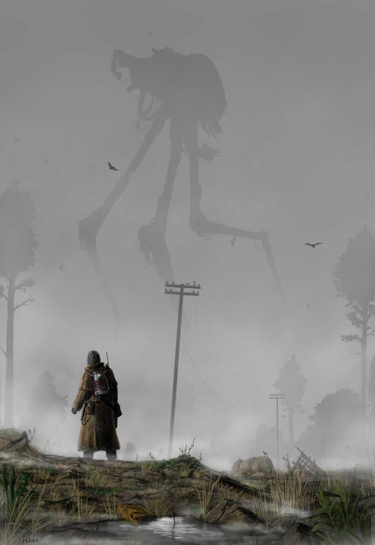 The Martians have landed! From the classic H. G. Wells Novel.