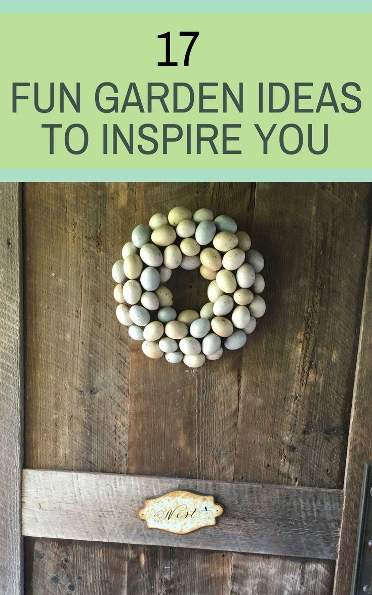 Charming 17 Fun Garden Decor Ideas To Inspire You