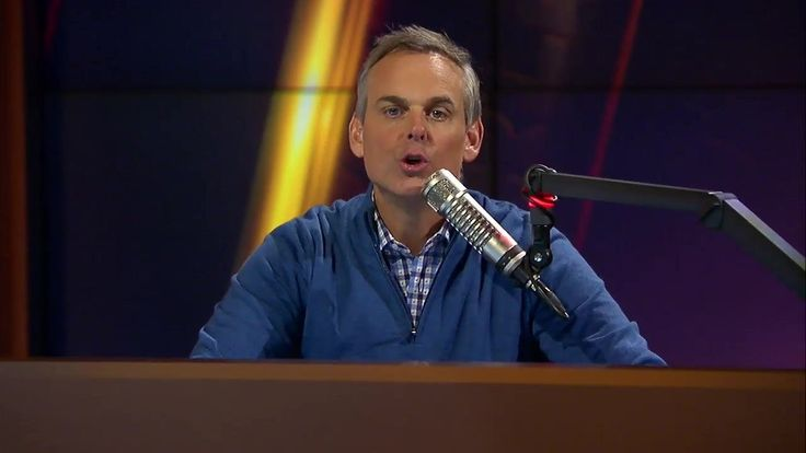 """""""Don't let people with no life ruin yours."""" - Colin Cowherd"""