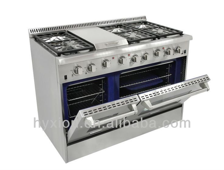 Free Standing Gas Cookers With Double Oven  Griddle $1~$4999