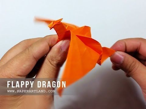 Make your own little flappy dragon