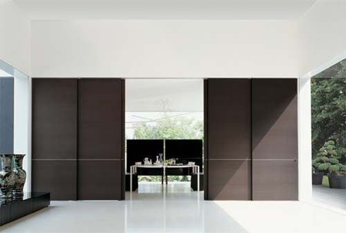 sliding door and partition program with versatile applications