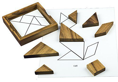 This Chinese puzzle has been challenging and entertaining people of all ages for centuries. Not only does it provide a number of fun and challenging cognitive activities, the beautiful wood pieces in the self-contained wooden box make it something that you might leave on your coffee table. This... more details available at https://perfect-gifts.bestselleroutlets.com/gifts-for-teens/toys-games-gifts-for-teens/product-review-for-wooden-tangram-puzzle-for-dementia-and-alzheimers