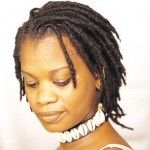 Natural black hair dreadlocks