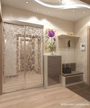 Дизайн интерьера прихожей на ст.м. Ясенево, Москва.