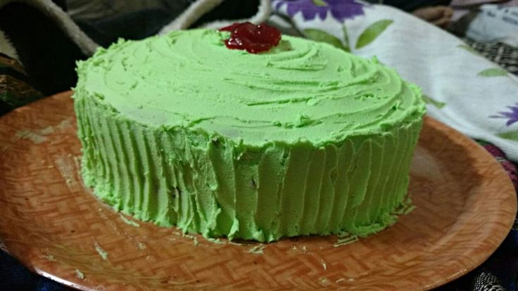 Aromatic lime cake