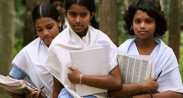 Less than 40% of Indian adolescents attend secondary school