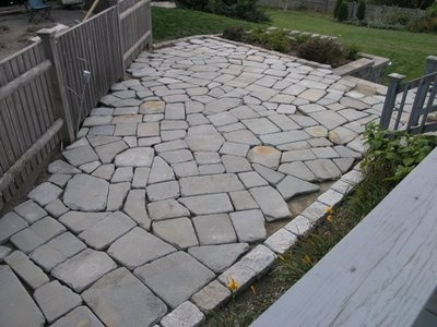 How to Build a Stone PatioPatios How To, Patios Oh Patios Tak, Yards Patios, Stones Patios, Stone Patios