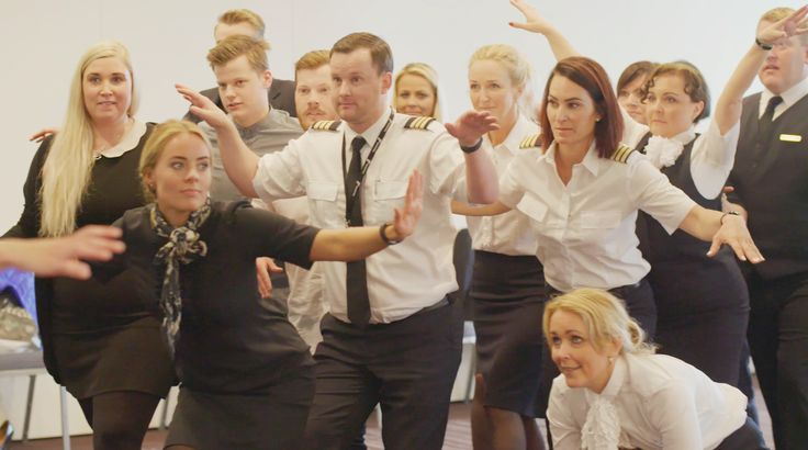 Flight attendants offer three-act drama performance in bid to fight plane boredom