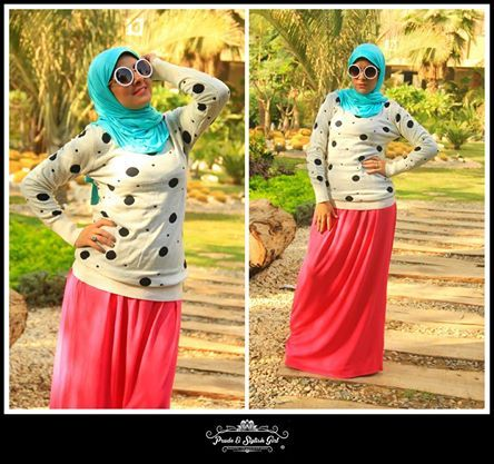 Sporty casual hijab style for girls | Just Trendy Girls