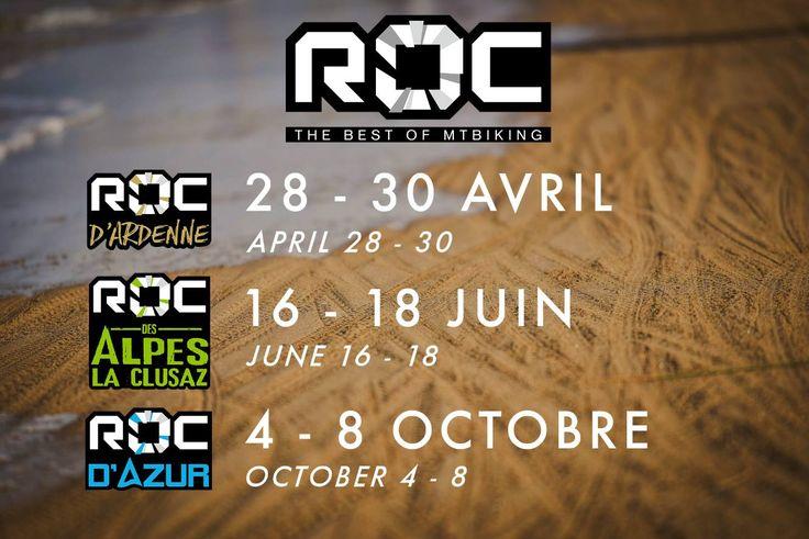 Les dates pour le ROC d'Ardenne, ROC des Alpes et ROC d'Azur 2017 sont connues. Découvrez-les dans cet article !
