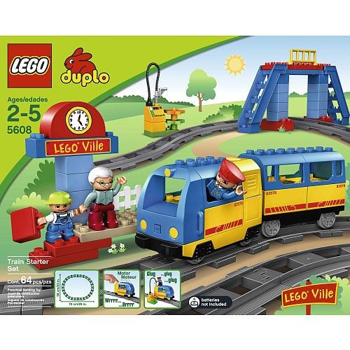 LEGO Duplo LEGOVille Train Starter Set (5608)  - LEGO -  LEGO Storage & Accessories - FAO Schwarz®