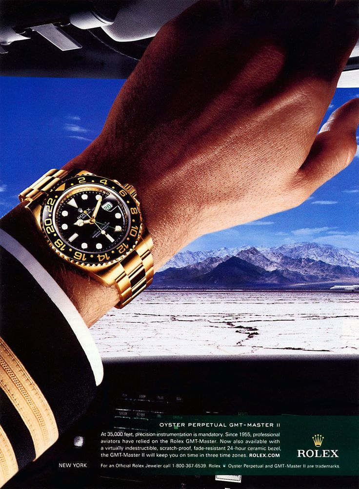 Rolex GMT Master II – Pilot Ad