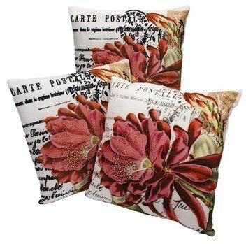 #Prydnadskudde GITTE 45x45cm rosa blommor #inredning #shabbychic #romantisk http://jysk.se/inredning/prydnadskuddar/prydnadskuddar/prydnadskudde-gitte-45x45cm-rosa-blommor