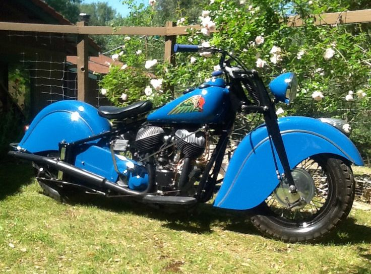 One of Ed's Indians -Custom '47 Chief
