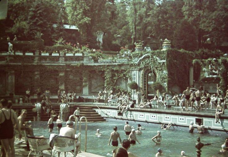 Fotó: Budapest, Gellért gyógyfürdő, 1940 (fortepan.hu)