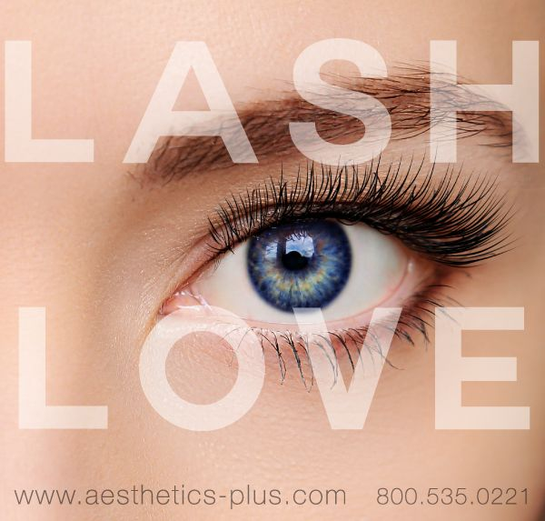 We love lashes at AP. Lash classes, lash supplies and cosmetics available at your local AP! Find an AP near you, www.aesthetics-plus.com