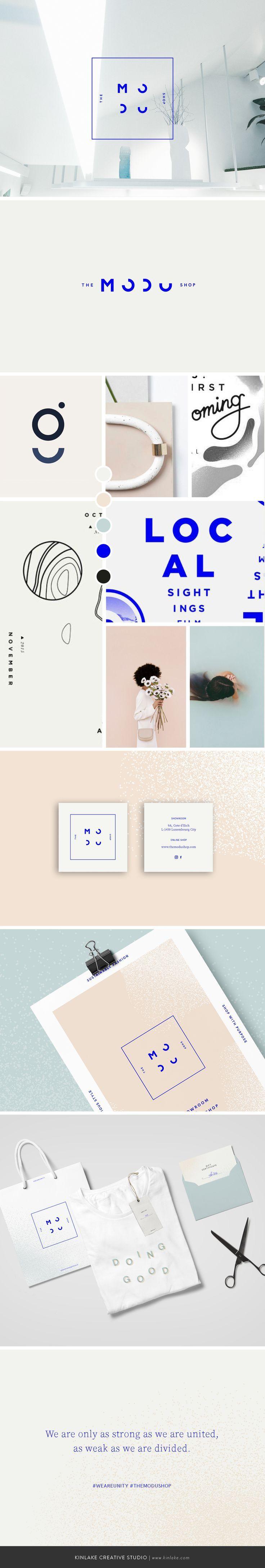 The Modu Shop | Brand Design by Kinlake www.kinlake.com