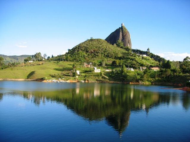 Peñol, in Eastern Antioquia, Colombia