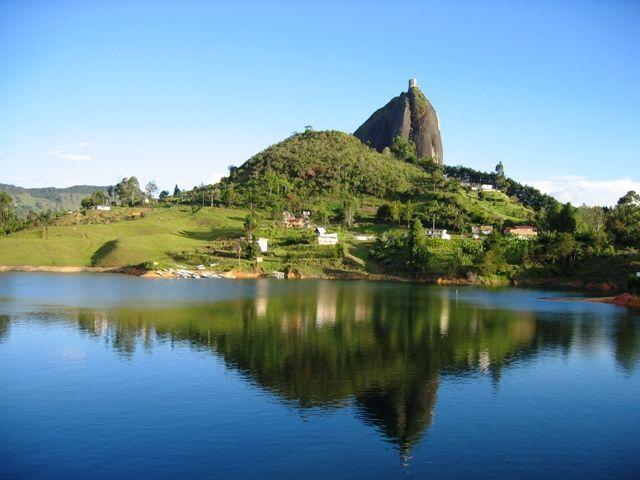 Peñol, in Eastern Antioquia, Colombia