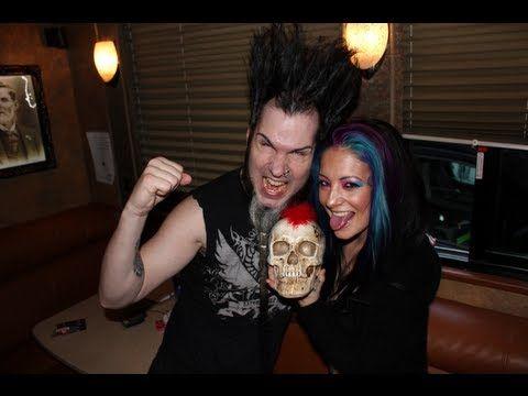 (35) Wayne & Tera Wray Static - Static-X Interview at Sokol Auditorium - Backstage Entertainment - YouTube