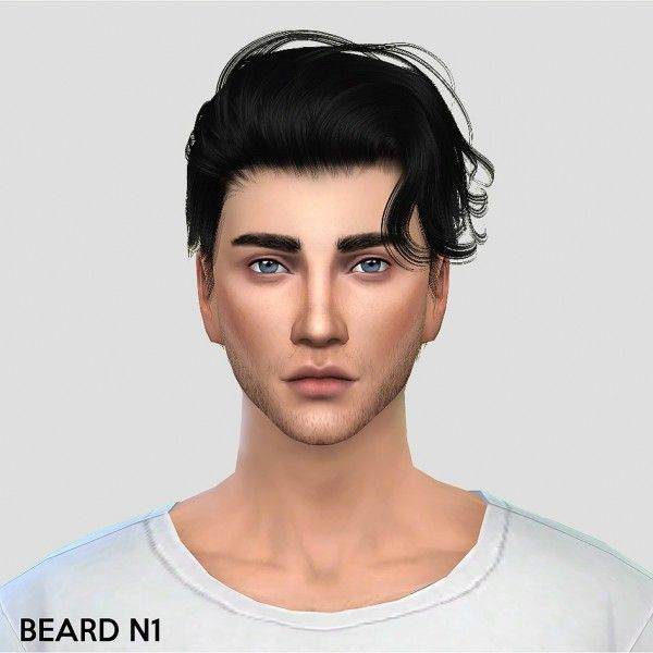 Alecai-Sims: Beard N1 • Sims 4 Downloads