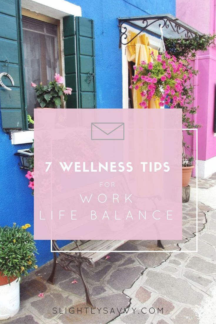wellness tips for work