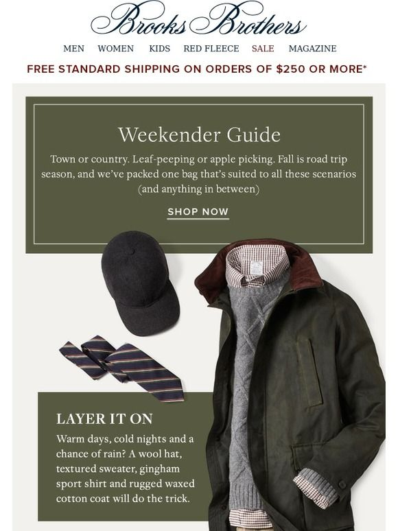8 best email secret sale sample sale sale preview images on brooks brothers pack your bag fandeluxe Choice Image